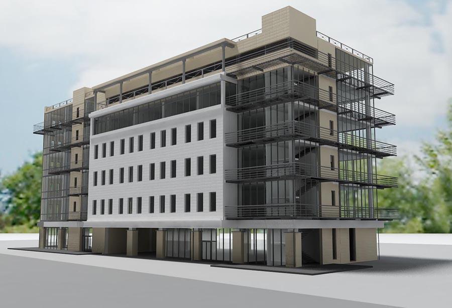 Строительство коммерческих зданий