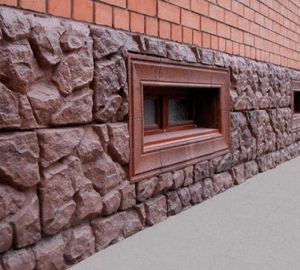 отделка цоколя здания