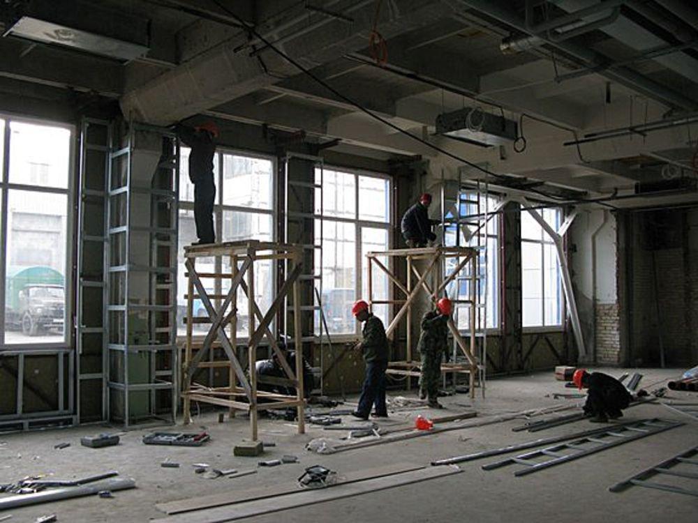 Отделка и ремонт зданий