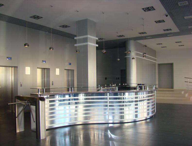 Внутренняя отделка административных зданий в Москве под ключ