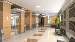 отделка общественных зданий внутри