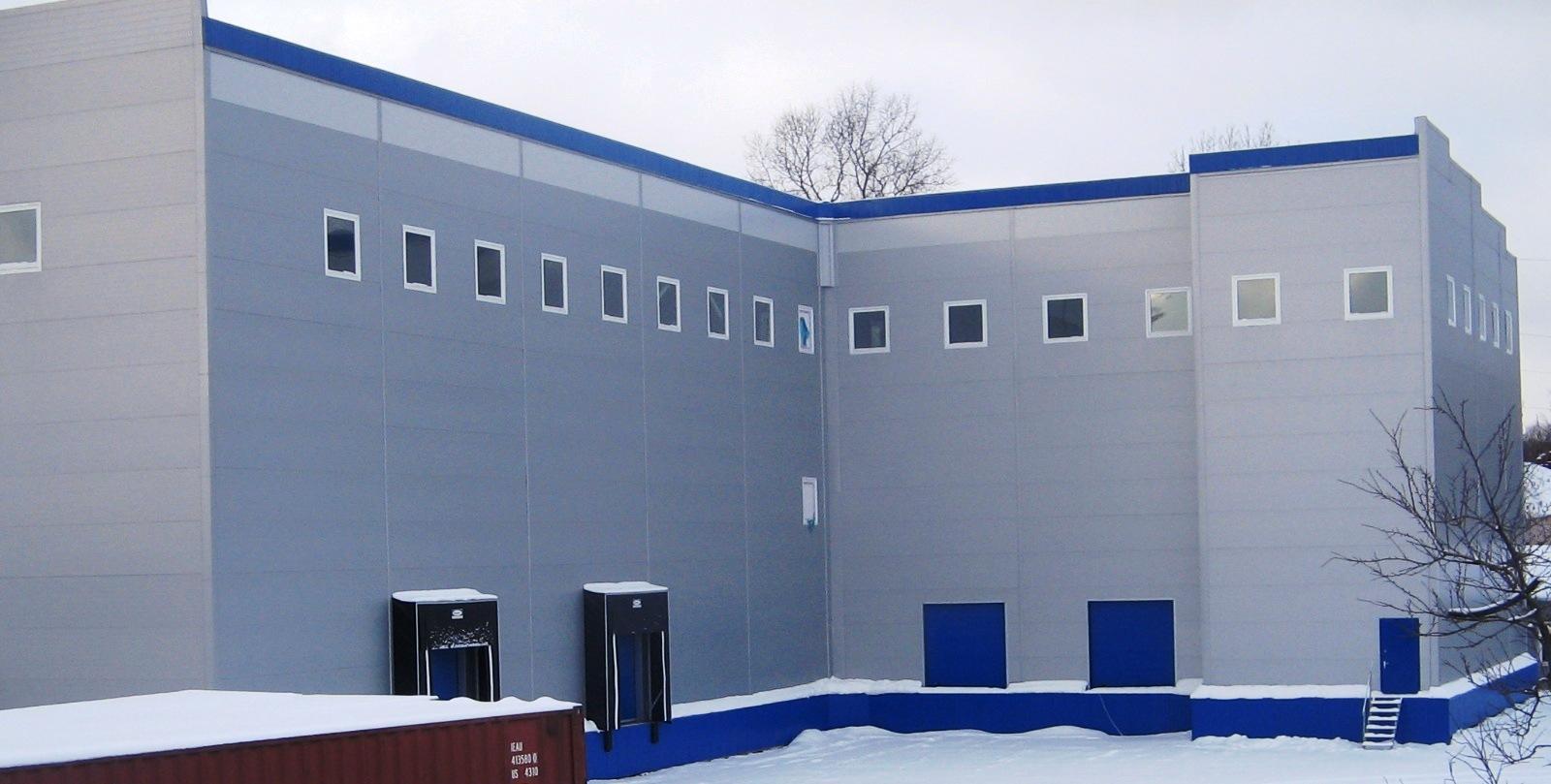 отделка производственных зданий