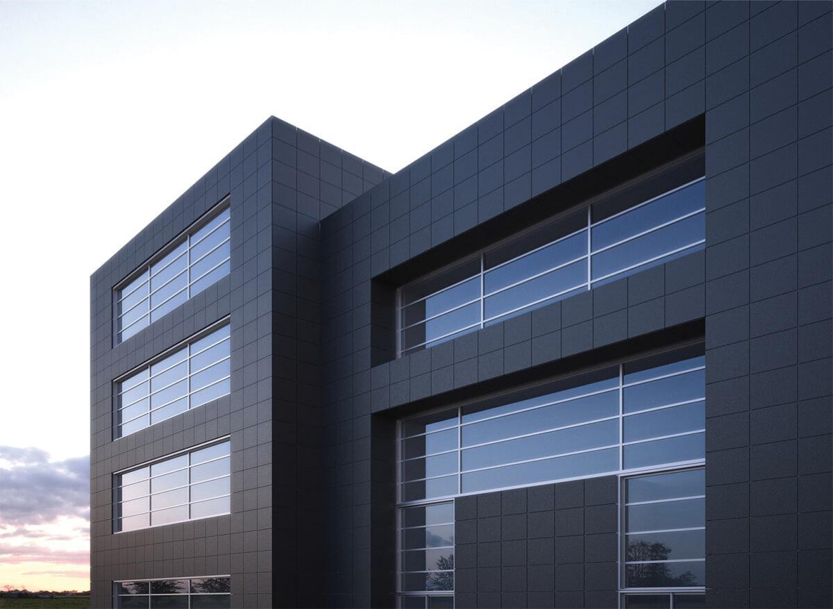 отделка фасада здания